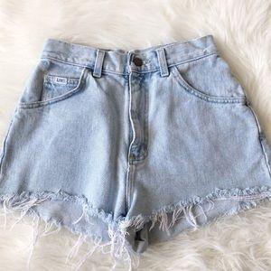 Lee High Waisted Denim Shorts